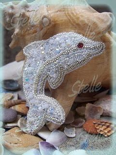 a white dolphin for a bride