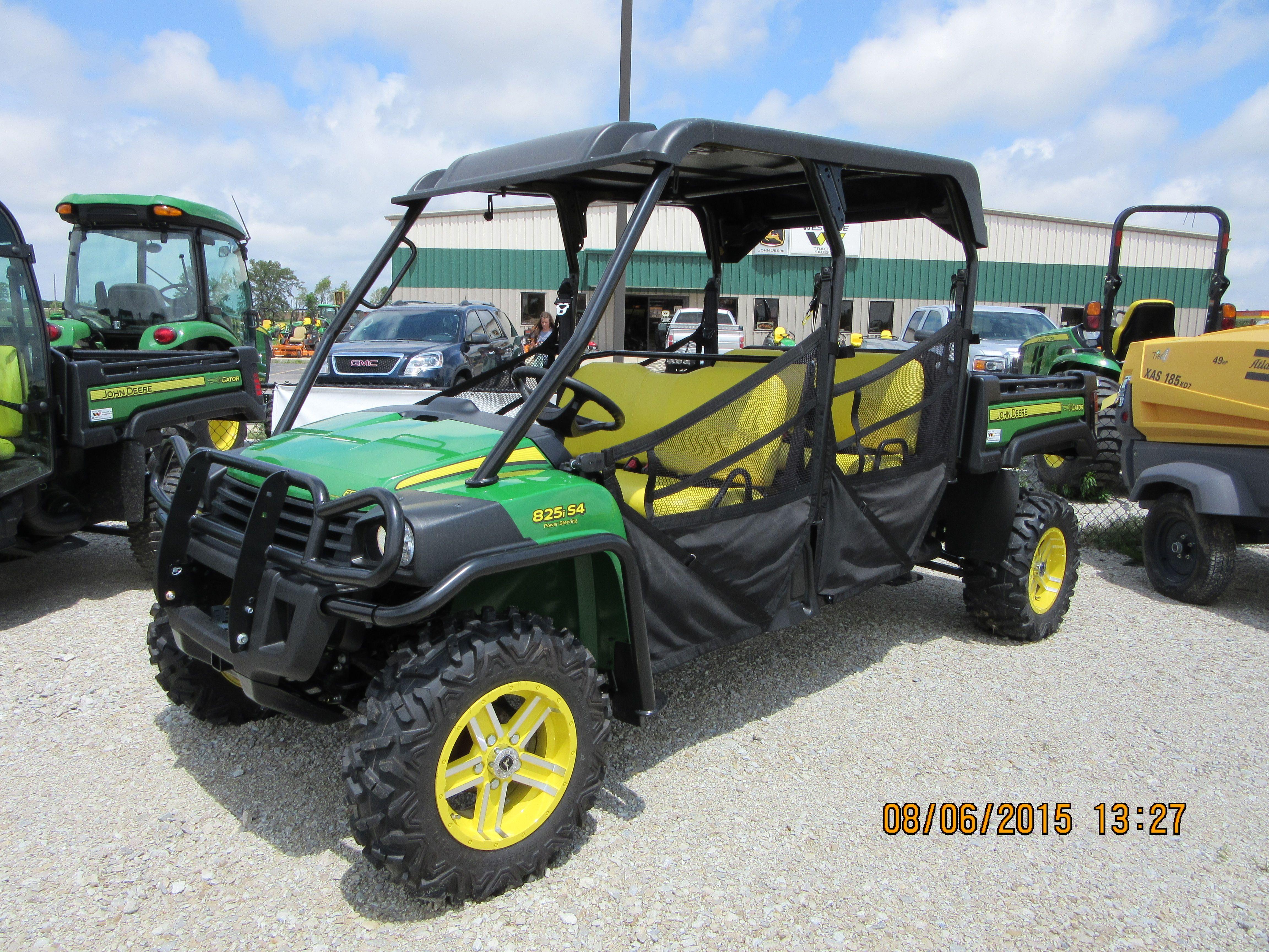 John Deere 825i S4 Gator John Deere Equipment