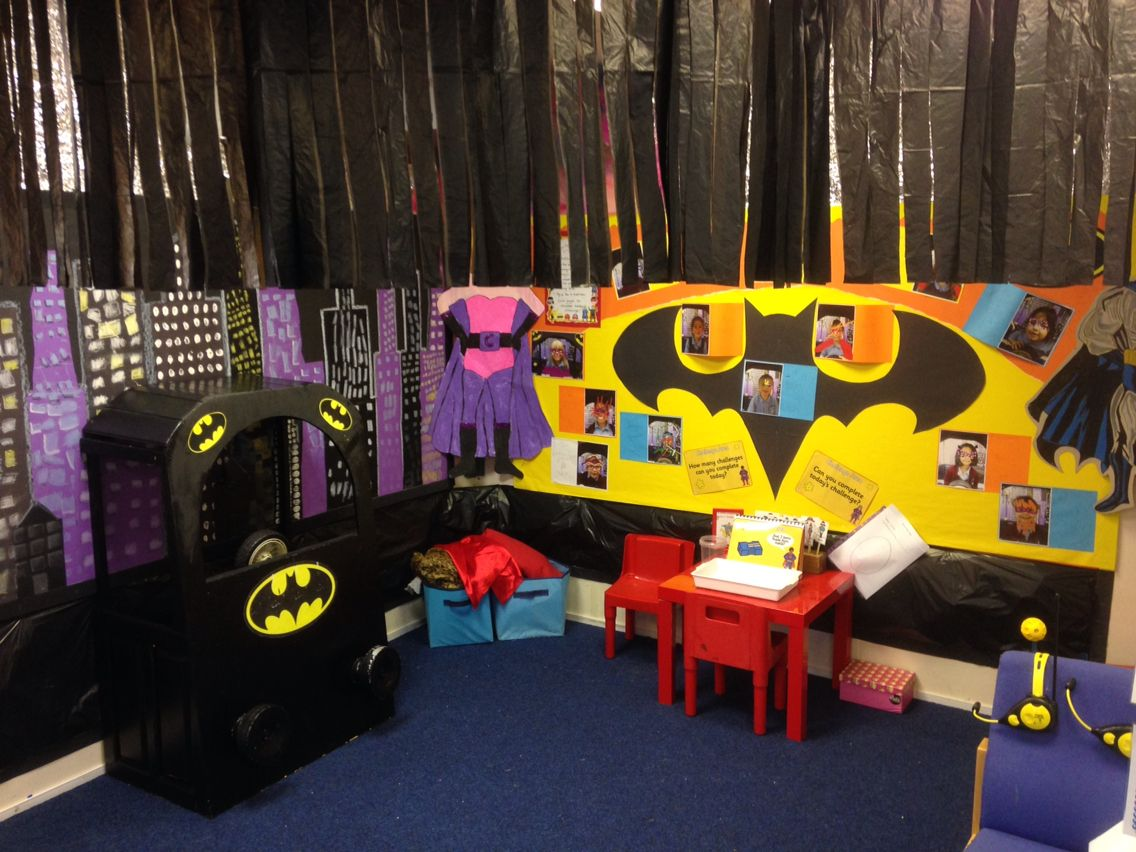 superheroes role play area inquiry pinterest role