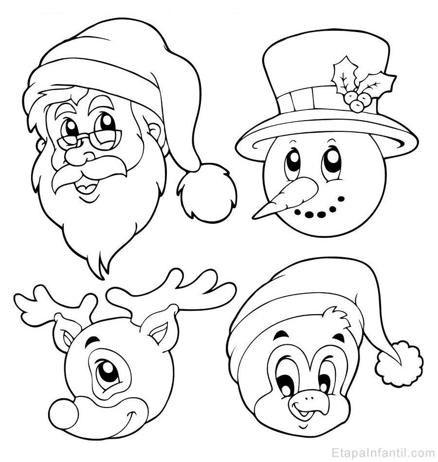 10 Dibujos De Navidad Para Imprimir Y Colorear Dibujos De Navidad Dibujos De Navidad Para Imprimir Dibujo Navidad Para Colorear
