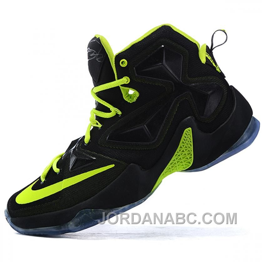 Buy Nike LeBron James XIII Black Fluorescence Green Basketball Shoes from  Reliable Nike LeBron James XIII Black Fluorescence Green Basketball Shoes  ...