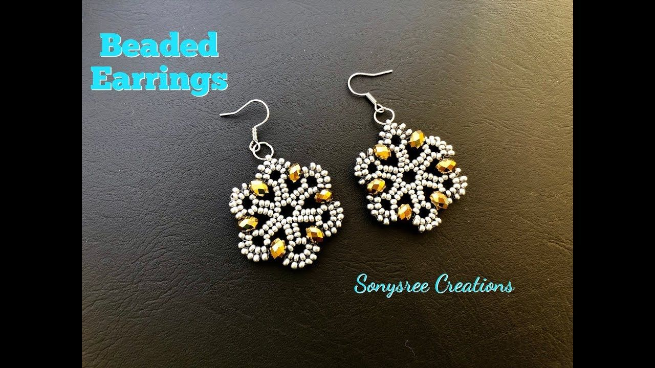 Beaded Earrings How To Make Beaded Earrings Such An Awesome