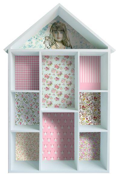 Casita estanter a de madera personalizada para guardar sus peque os juguetes juguetes de - Estanterias guardar juguetes ...