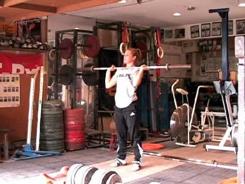 CrossFit - Hang Power Clean Demo