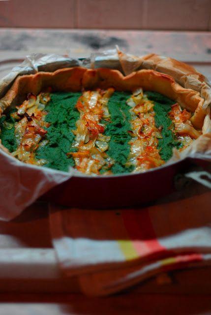 Torta Salata Bietole e Cavolo.