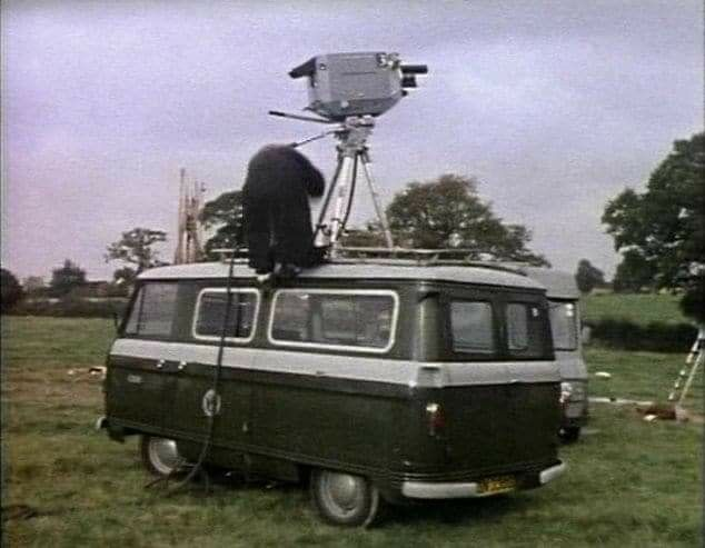 Commer BBC TV Camera Van | Commercial vehicle, Old lorries, Vehicles
