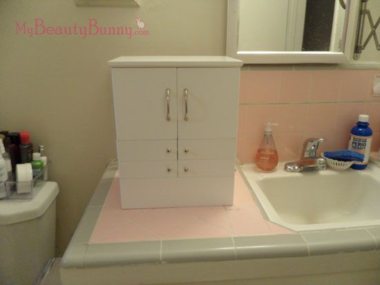 Qvc Makeup Organizer Awesome How I Got My Counter Space Back  Qvc Makeup And Counter Space