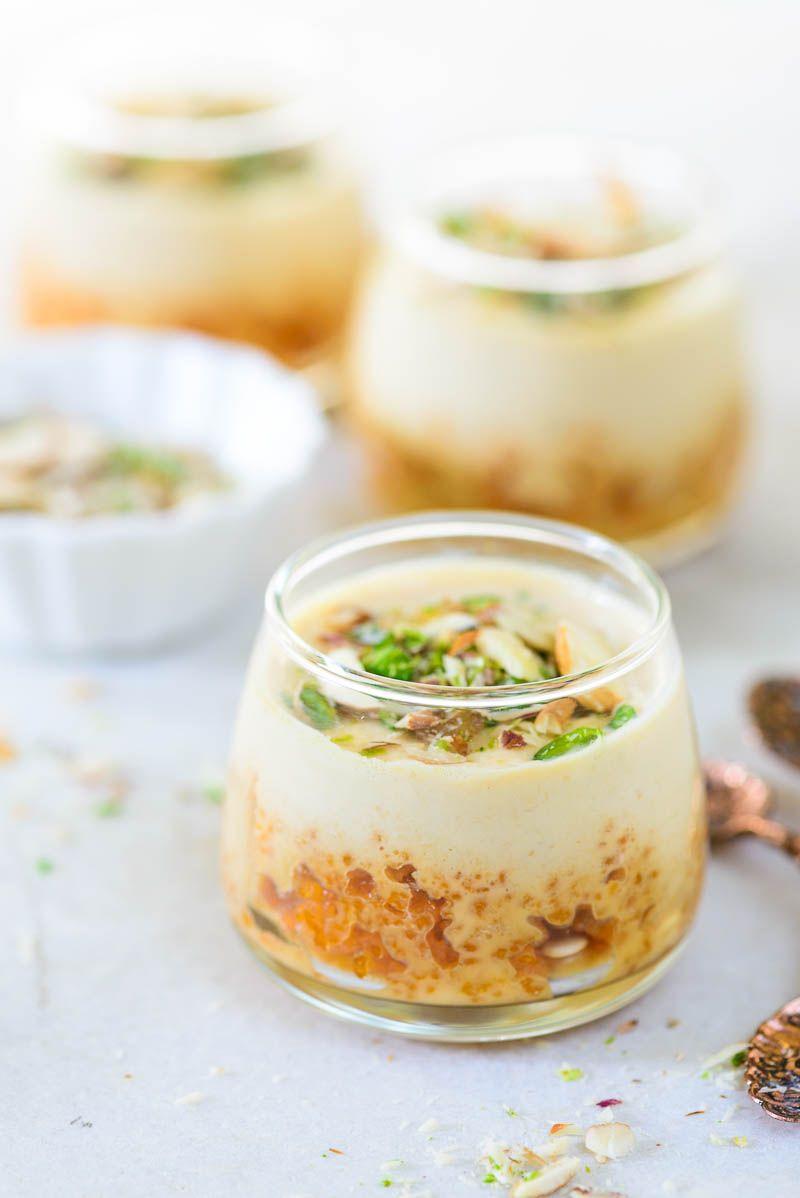 Motichoor Rabri Parfait Recipe Whisk Affair Indian Dessert Recipes Indian Desserts Parfait Recipes