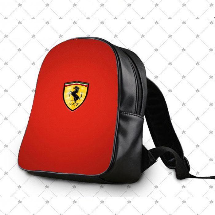 Ferrari Logo Sj School Bag Backpacks School Bags Backpack Bags Bags