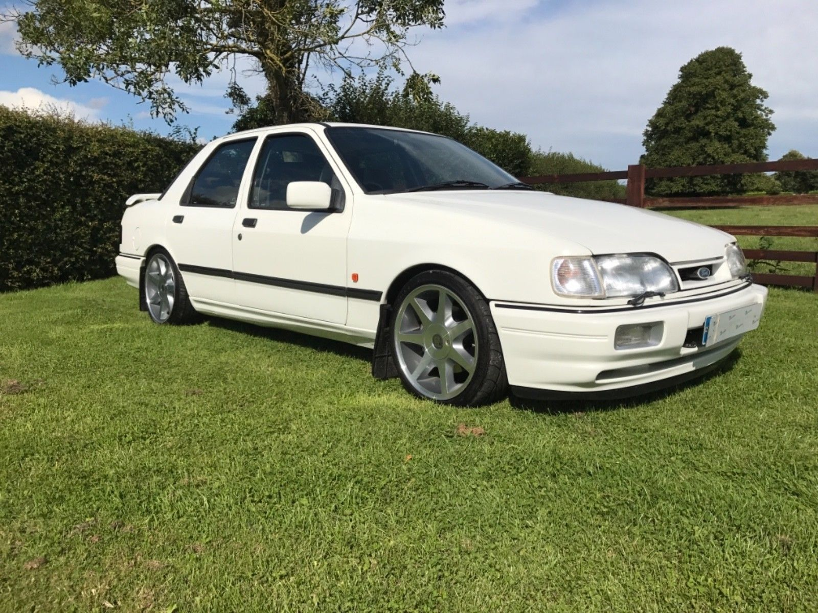 This Ford Sierra Sapphire Cosworth 2wd 1990 Big Spec 350bhp Vgc Fsh Vgc Is For Sale Ford Sierra Sierra Ford