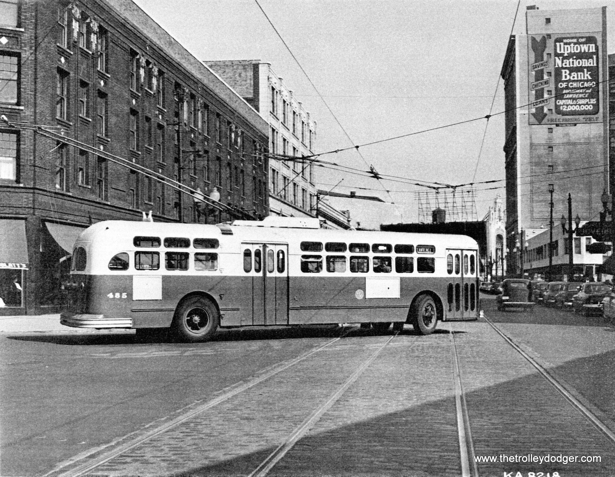 CTA Chicago Marmon Herrington trolley coach   Chicago history ...