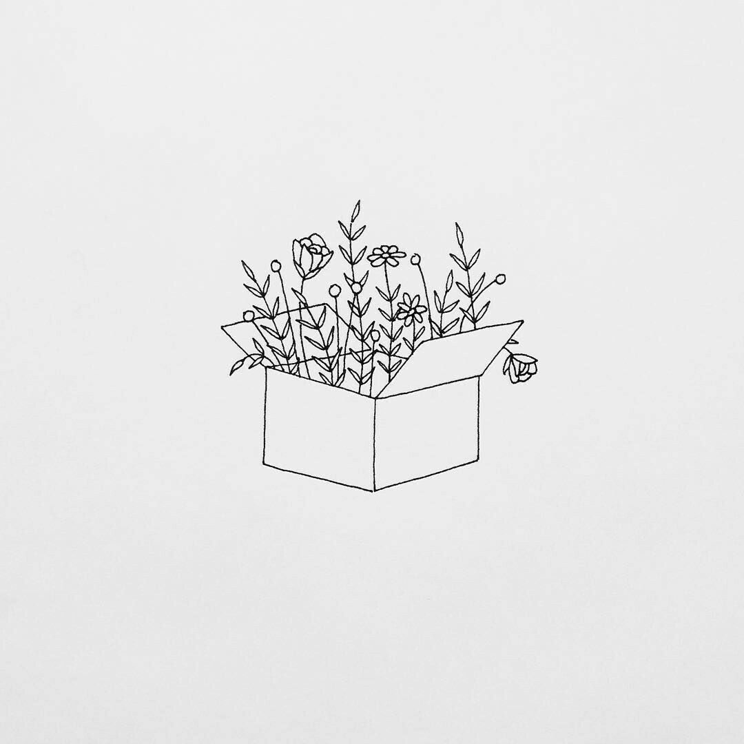 Flower Pot Drawing Design Easy Valoblogi Com