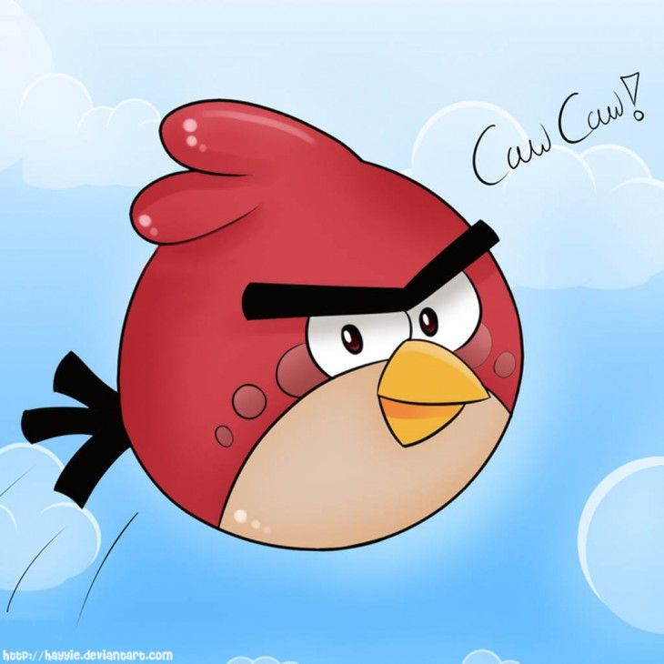 Bird Angry Birds Red IPad Background