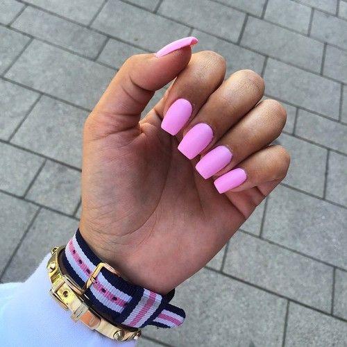 Neon pink nails | nails | Pinterest | Neon pink nails, Pink nails ...
