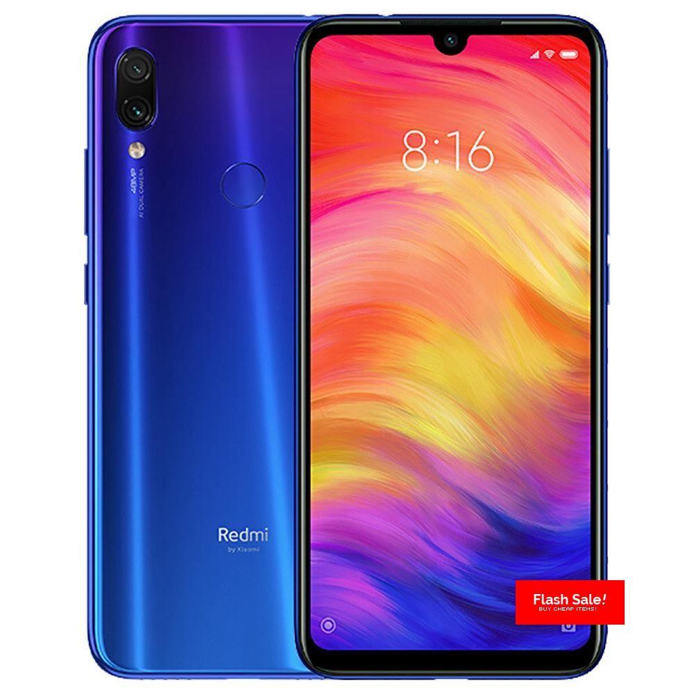 Xiaomi Redmi Note 7 6 3 Inch 4g Lte Smartphone Snapdragon 660 4gb 64gb 48 0mp 5 0mp Dual Ai Cameras Miui 9 Type C Quick Charge Ir Remo Xiaomi Note 7 Smartphone