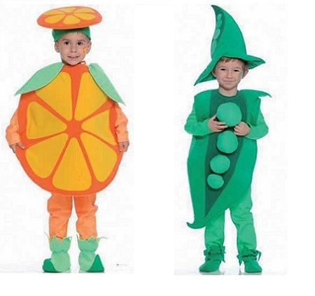 disfraces para ninos frutas