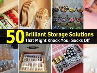 50 Brilliant Storage Solutions That Might Knock Your Socks Off