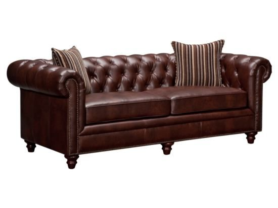 Chesterton Brown Sofa American Signature Furniture Madison - American signature sofas