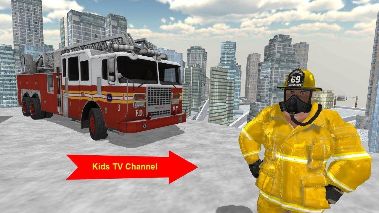 Fire Truck Driving Simulator   Firefighter game   Fire Truck
