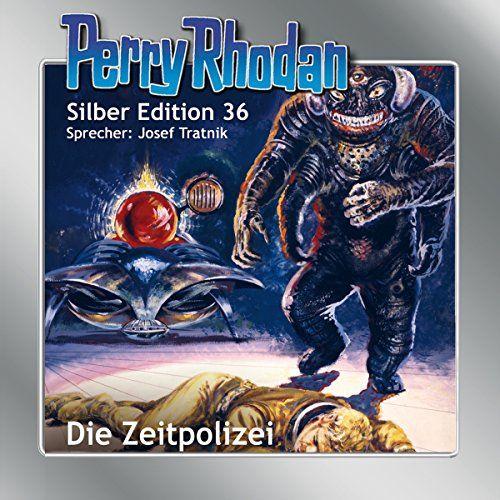 Die Zeitpolizei Perry Rhodan Silber Edition 36 Comic Book Cover