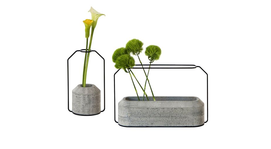 Weight Vases - designed by Decha Archjananum, from Luminaire.