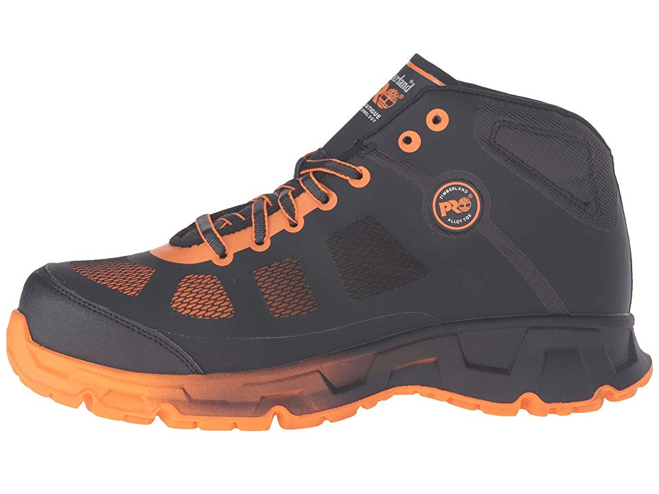 92d7395903f Timberland PRO Velocity Alloy Safety Toe Mid Boot Men's Work Lace-up ...