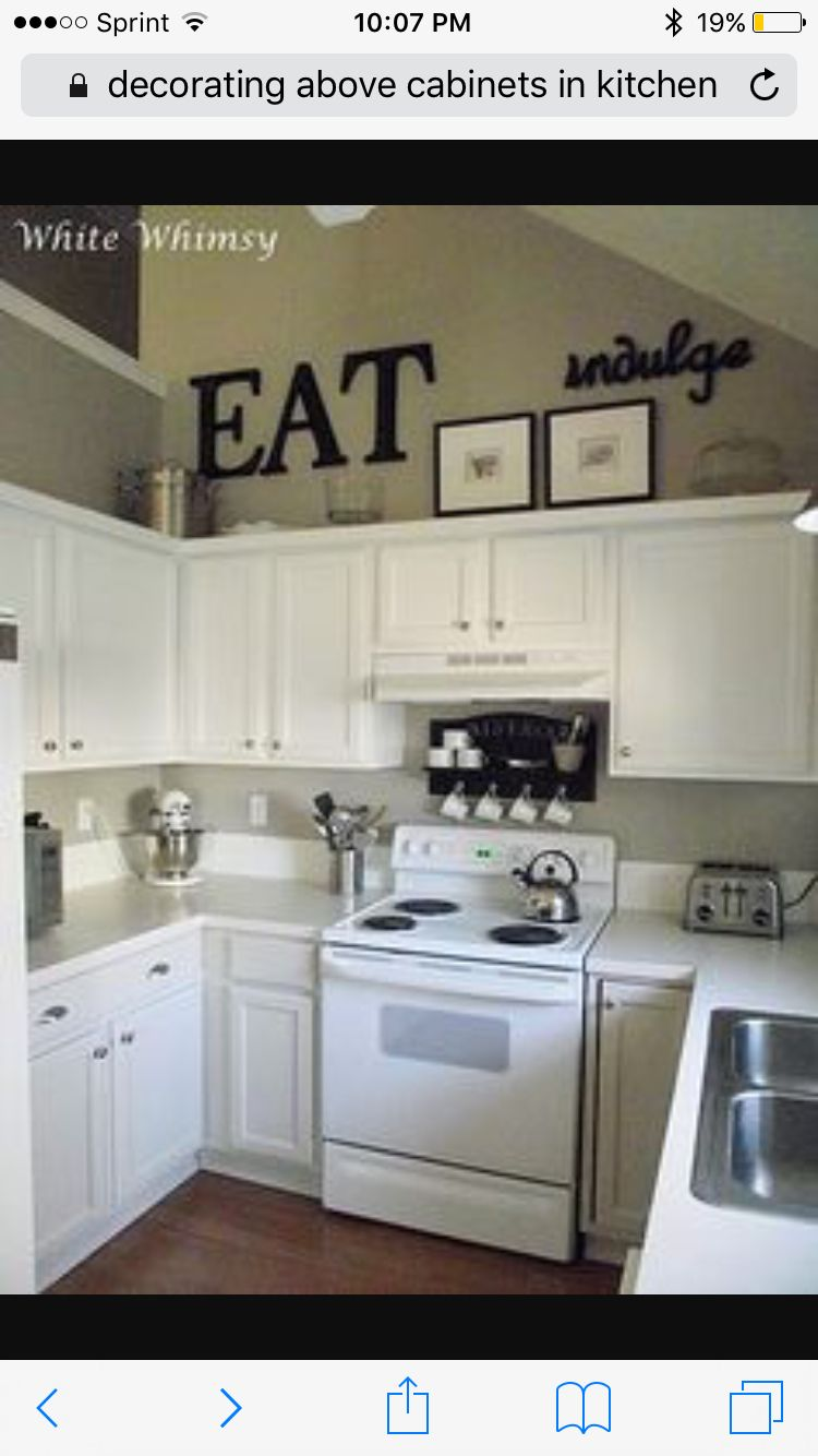 10 Kitchen Cabinet Tips: Kitchen Decor, High Ceilings, Above Cabinets