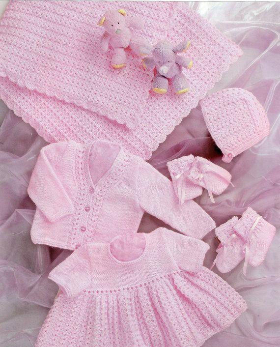 Prem Baby Reborn or Baby dolls clothes shawl by PrettyVintageKnits ...