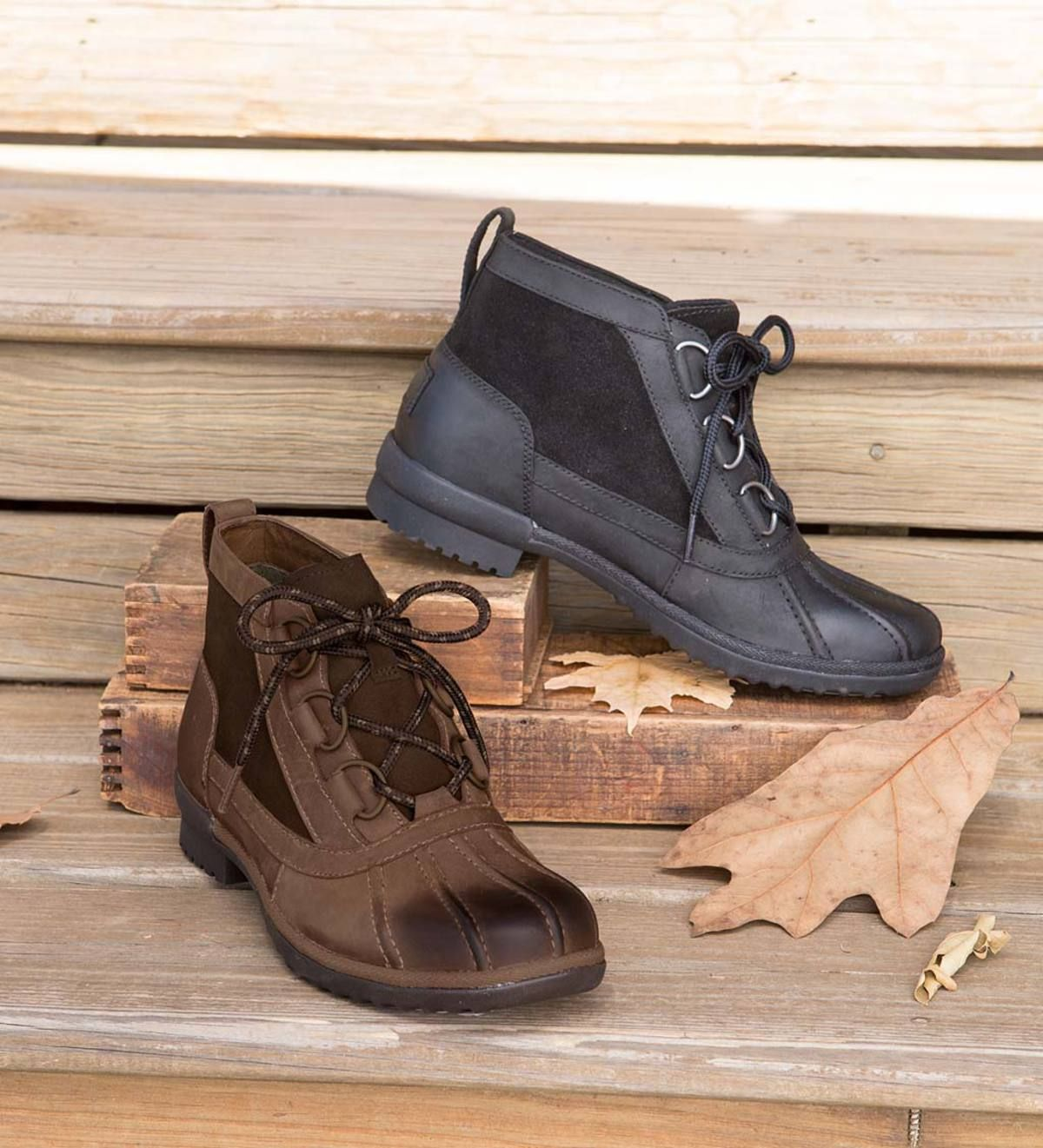 66cb7837e47 Go anywhere and be ready for anything with UGG Heather Boots. The ...