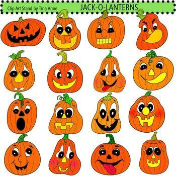 Clip Art Jack O Lanterns Jack O Lantern Pumpkin Face Paint Fall Pumpkin Crafts