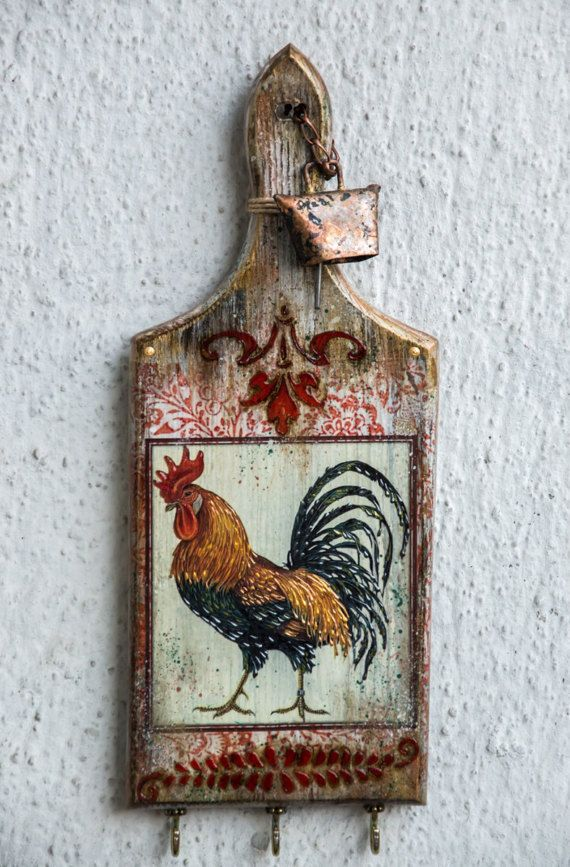 Country Kitchen Decor Rooster Art Kitchen Decor Kitchen Wall Decor Rooster Decor Farmhouse Chic Farmhouse Kitchen Hanger Rooster Kitchen Decor Rooster Decor Chicken Kitchen Decor