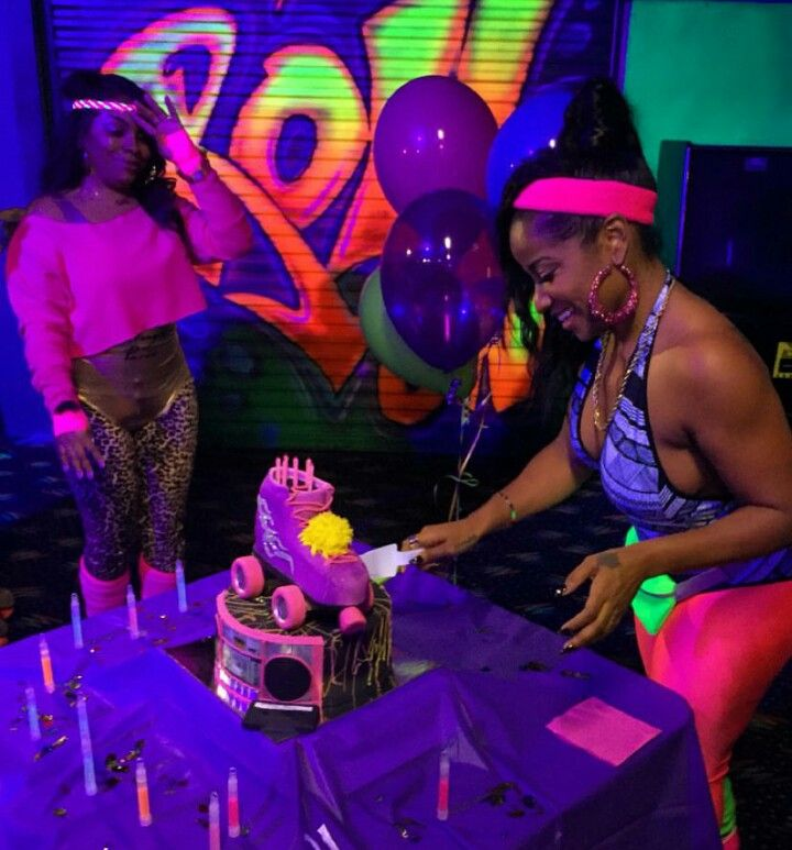 Toya Wright 80s Party Birthday Parties 90s