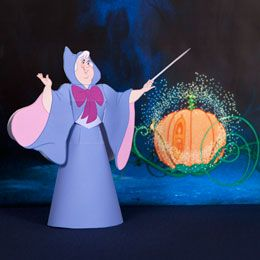 Fairy Godmother Printable Paper Craft Perfect For Decoration