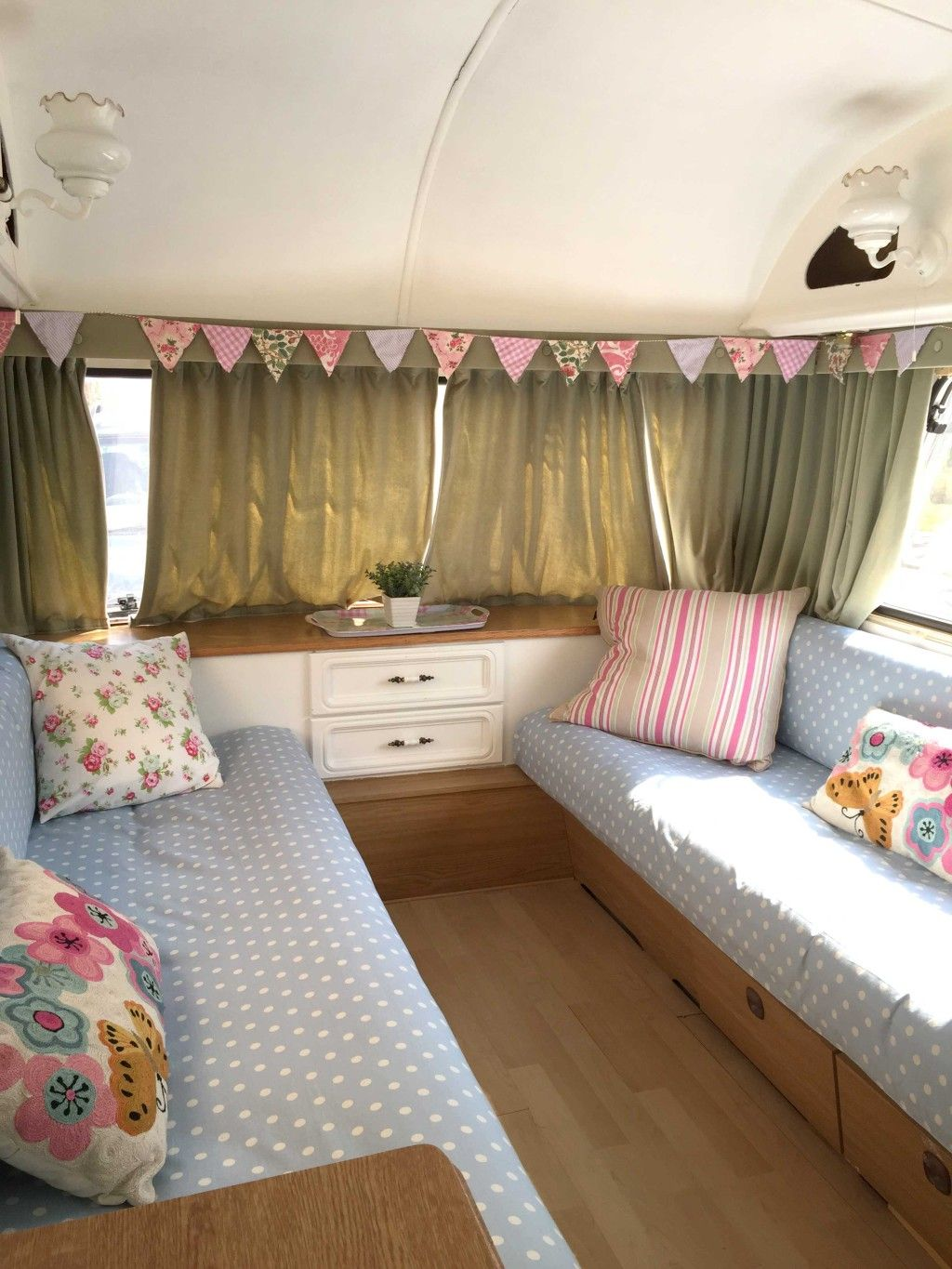 Our First Caravan Makeover Take One Ugly Caravan And Transform It