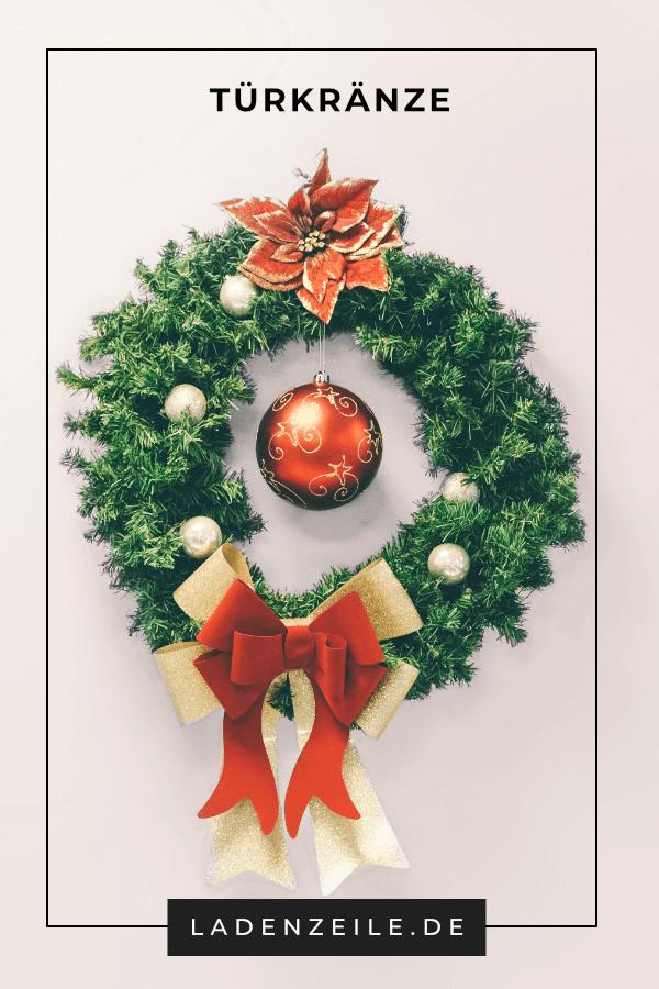Weihnachtsturkranze Weihnachtsgrun Turkranz Weihnachten Weihnachtskranz