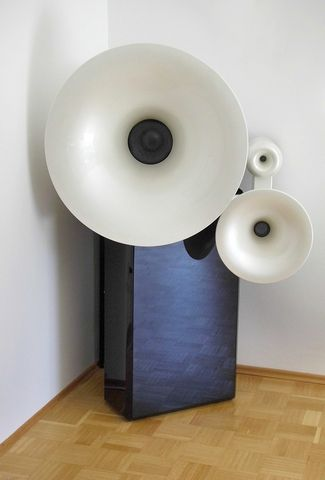 Orgon 4-way spherical wave horn from Martion, Germany