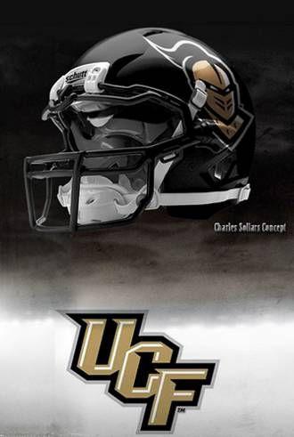 99c978b4817 UCF University of Central Florida Knights - concept football helmet ...