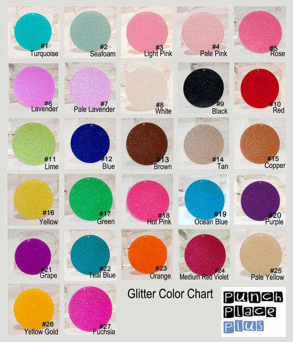 U Pick 20 Acrylic 3 Circle Disc Glitter 27colors Personalized Keychain Etsy Monogrammed Earrings Vinyl Diy Monogram