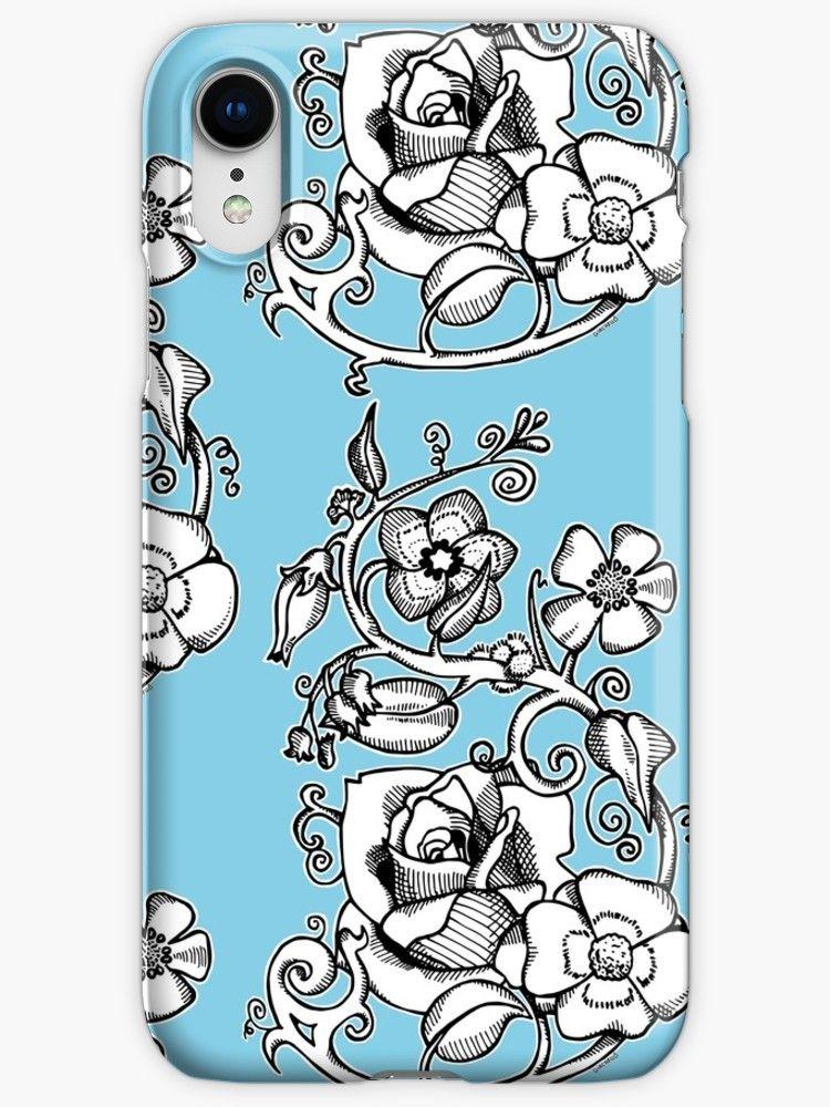coque iphone xr fleurie