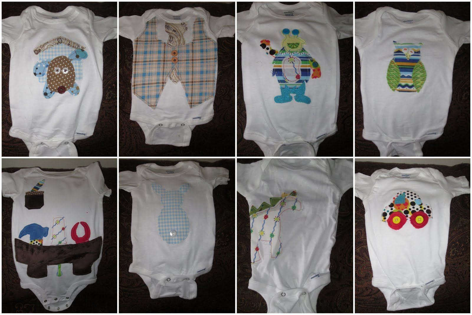 You Can Do ANYTHING: DIY Baby Onesie Applique