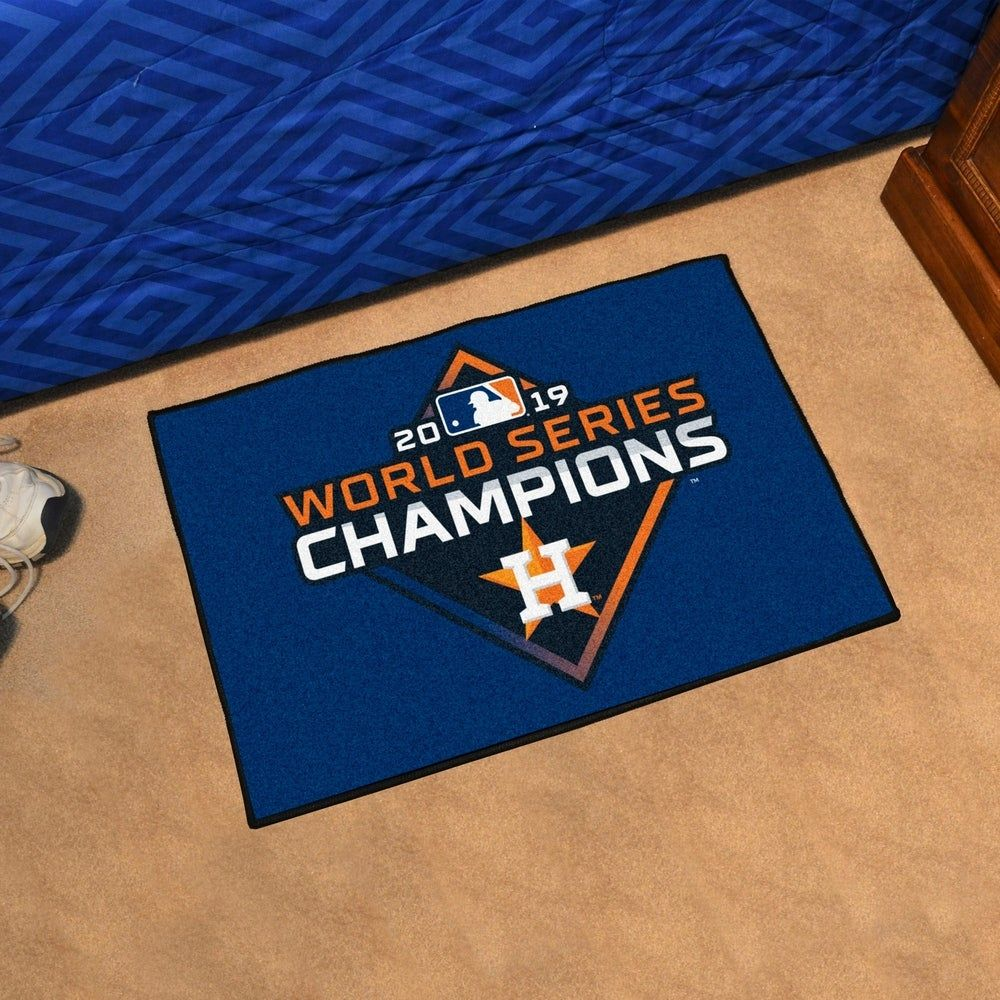 FANMATS MLB Houston Astros Nylon Face Carpet Car Mat