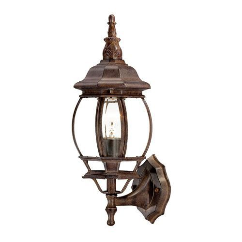 Acclaim Lighting 5051bw Chateau Wall Lantern In Burled Walnut Brown Victorian Bellacor Outdoor Wall Mounted Lighting Wall Mount Light Fixture Outdoor Sconces
