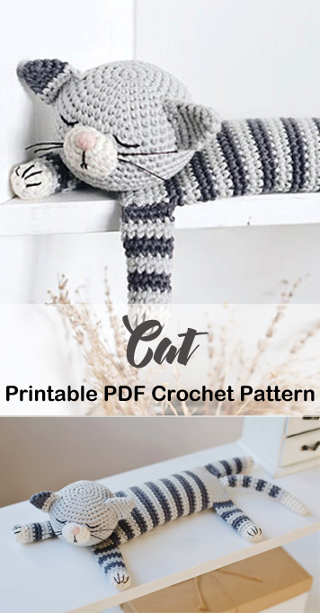 11 Crochet Cat Patterns -Amigurumi Tips