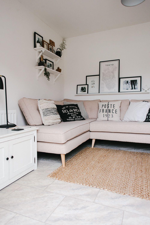 Sympathisch Sofa Scandi Beste Wahl Dfs Zinc Corner - Boho Living Room