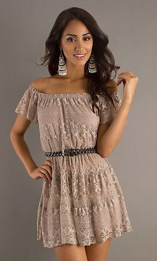 Casual Lace Dresses With Sleevescasual Lace Dresses Scoop Neck ...