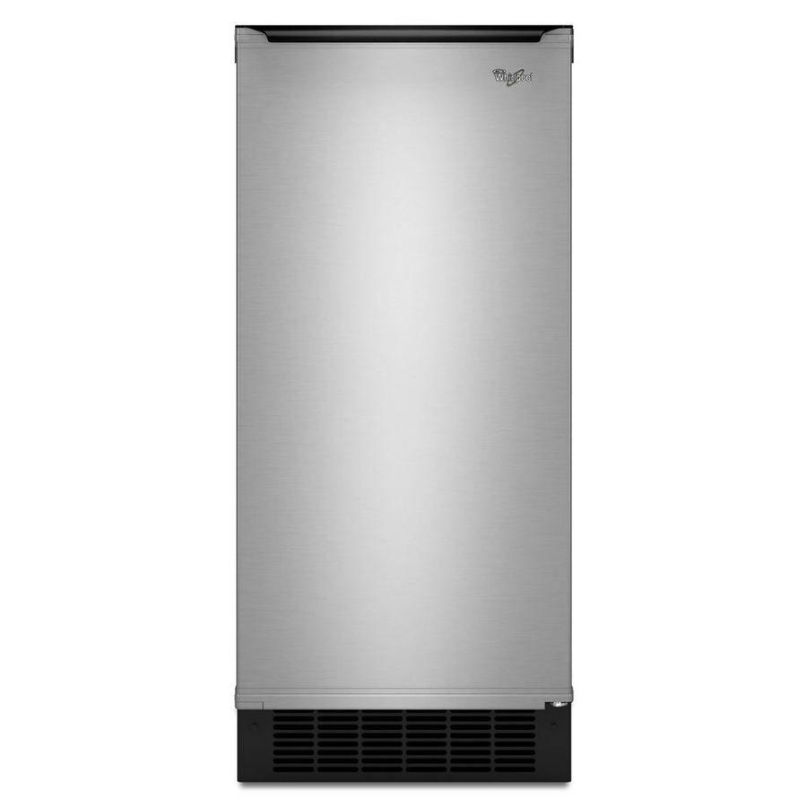 Whirlpool 25-Lb Freestanding/Built-In Ice Maker Gi15ndxzs   Office ...