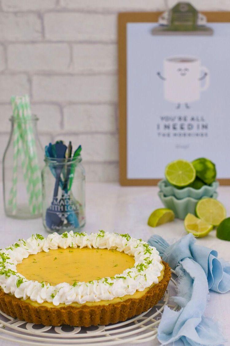 tarta de lima entera