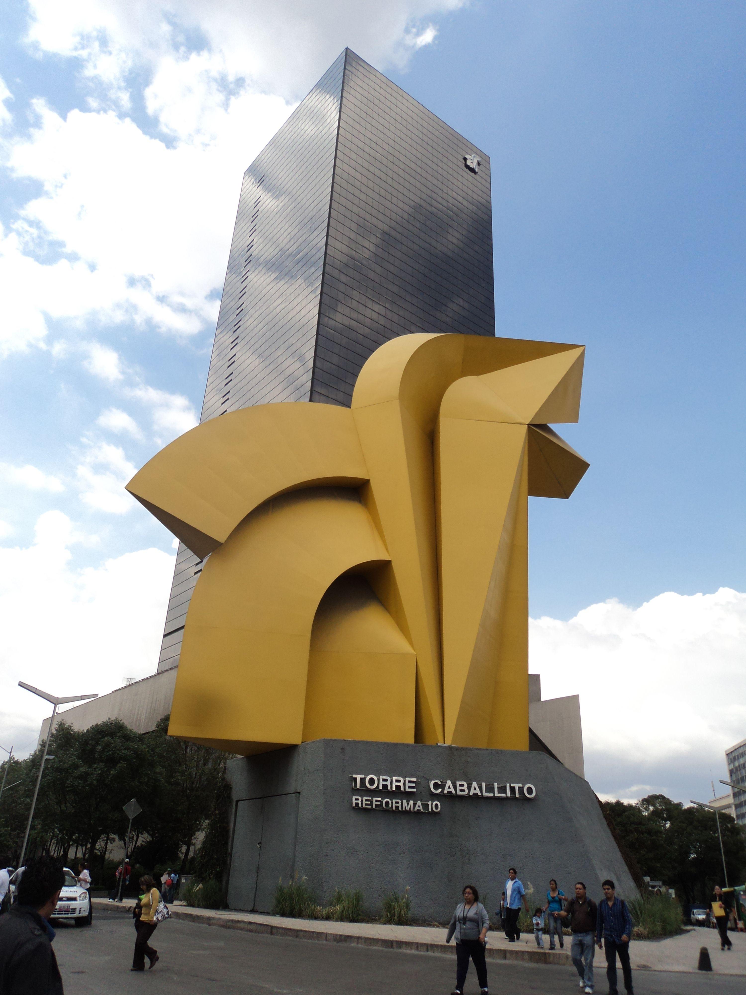 Torre del caballito cuenta con una altura de 135 metros - Altura de un piso ...