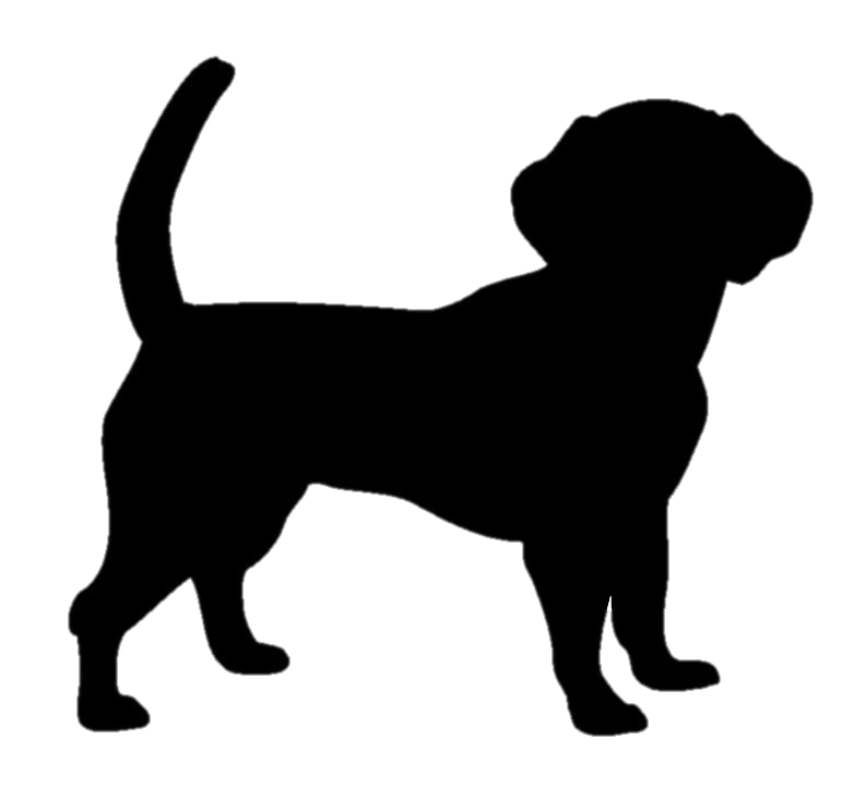 Black Silhouette Clipart Image Dog Silhouette Irish Setter