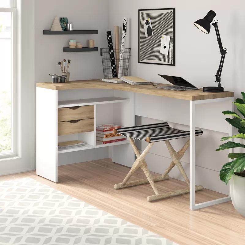 Zipcode Design Chang L Shape Writing Desk Reviews Wayfair Home Office Design Home Office Furniture Cheap Office Furniture